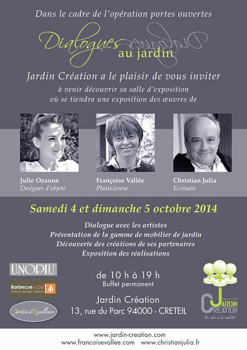 Dialogues au jardin fran oise vall e for Au jardin d ozanne